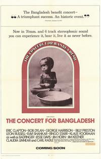 The Concert for Bangladesh - 11 x 17 Movie Poster - Style A
