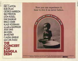 The Concert for Bangladesh - 11 x 14 Movie Poster - Style A