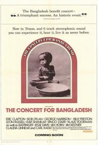 The Concert for Bangladesh - 27 x 40 Movie Poster - Style A