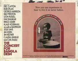 The Concert for Bangladesh - 22 x 28 Movie Poster - Half Sheet Style A