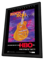 The Concert for the Rock and Roll Hall of Fame - 11 x 17 TV Poster - Style A - in Deluxe Wood Frame