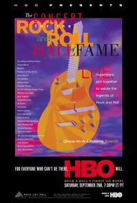 The Concert for the Rock and Roll Hall of Fame - 11 x 17 TV Poster - Style A