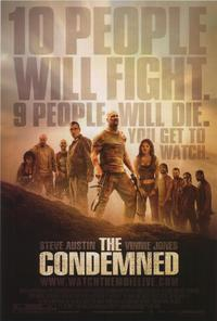 The Condemned - 43 x 62 Movie Poster - Bus Shelter Style A