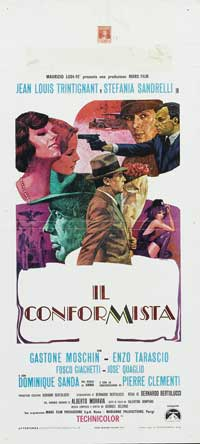 The Conformist - 13 x 28 Movie Poster - Italian Style A