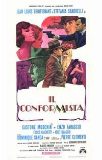 The Conformist - 11 x 17 Movie Poster - Italian Style A