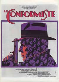 The Conformist - 11 x 17 Movie Poster - French Style A