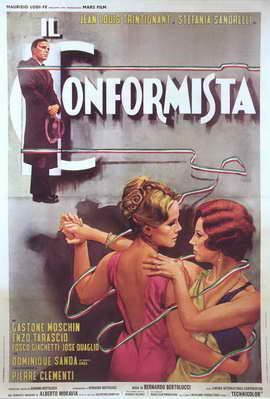 The Conformist - 27 x 40 Movie Poster - Italian Style A