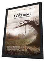 The Conjuring - 27 x 40 Movie Poster - Style A - in Deluxe Wood Frame
