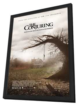 The Conjuring - 11 x 17 Movie Poster - Style A - in Deluxe Wood Frame