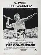 The Conqueror - 27 x 40 Movie Poster - Style C