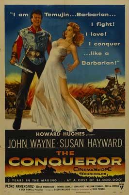 The Conqueror - 11 x 17 Movie Poster - Style E