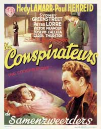 The Conspirators - 11 x 17 Movie Poster - Belgian Style A