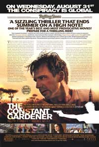 The Constant Gardener - 11 x 17 Movie Poster - Style F