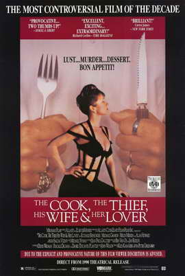 The Cook, the Thief, His Wife & Her Lover - 11 x 17 Movie Poster - Style A