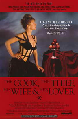The Cook, the Thief, His Wife & Her Lover - 11 x 17 Movie Poster - Style B