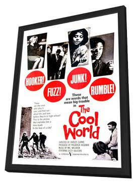 The Cool World - 11 x 17 Movie Poster - Style A - in Deluxe Wood Frame