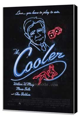 The Cooler - 27 x 40 Movie Poster - Style A - Museum Wrapped Canvas