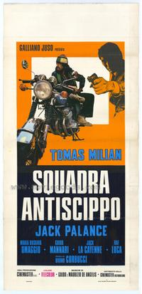 The Cop in Blue Jeans - 11 x 17 Movie Poster - Italian Style A