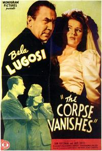 The Corpse Vanishes - 43 x 62 Movie Poster - Bus Shelter Style A
