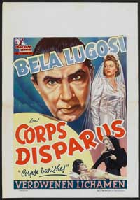 The Corpse Vanishes - 11 x 17 Movie Poster - Belgian Style A