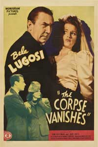 The Corpse Vanishes - 11 x 17 Movie Poster - Style B