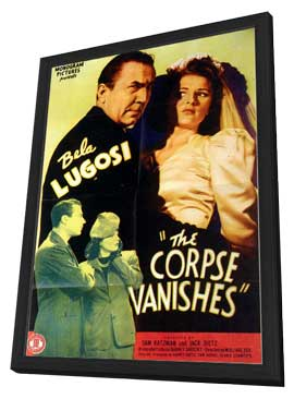 The Corpse Vanishes - 11 x 17 Movie Poster - Style A - in Deluxe Wood Frame