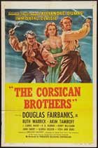 The Corsican Brothers - 11 x 17 Movie Poster - Style E