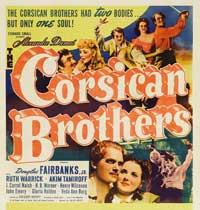 The Corsican Brothers - 20 x 20 Movie Poster - Style A