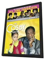 The Cosby Show - 11 x 17 Movie Poster - German Style A - in Deluxe Wood Frame