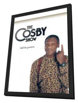 The Cosby Show - 11 x 17 TV Poster - Style A - in Deluxe Wood Frame