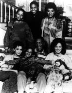 The Cosby Show - Bill Cosby Family Picture in Black and White