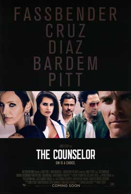 The Counselor - DS 1 Sheet Movie Poster - Style A