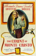 The Count of Monte Cristo - 11 x 17 Movie Poster - Style A