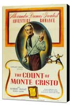 The Count of Monte Cristo - 27 x 40 Movie Poster - Style A - Museum Wrapped Canvas