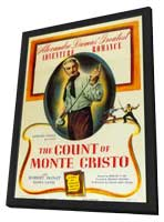 The Count of Monte Cristo - 11 x 17 Movie Poster - Style A - in Deluxe Wood Frame