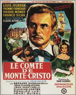 The Count of Monte Cristo - 11 x 17 Movie Poster - French Style B