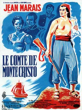 The Count of Monte Cristo - 11 x 17 Movie Poster - French Style C