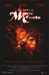 The Count of Monte Cristo - 11 x 17 Movie Poster - Style A - Museum Wrapped Canvas