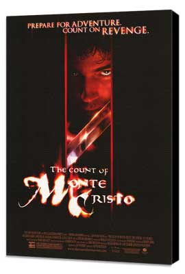 The Count of Monte Cristo - 11 x 17 Movie Poster - Style C - Museum Wrapped Canvas