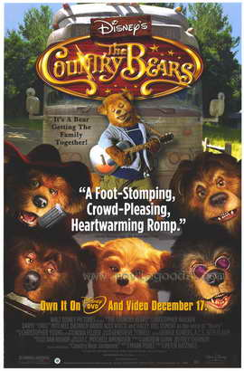 The Country Bears - 27 x 40 Movie Poster - Style B