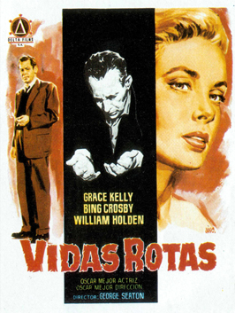 The Country Girl - 11 x 17 Movie Poster - Spanish Style A