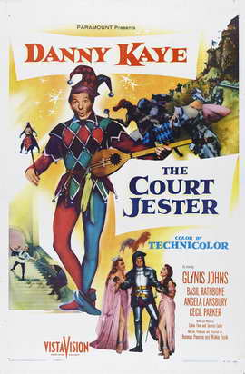 Court Jester - 11 x 17 Movie Poster - Style B