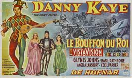Court Jester - 20 x 40 Movie Poster - Belgian Style A