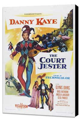 Court Jester - 27 x 40 Movie Poster - Style B - Museum Wrapped Canvas