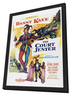 Court Jester - 11 x 17 Movie Poster - Style B - in Deluxe Wood Frame