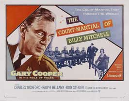 The Court-Martial of Billy Mitchell - 22 x 28 Movie Poster - Half Sheet Style A