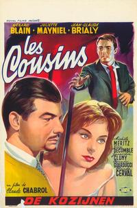 Cousins, The - 27 x 40 Movie Poster - Belgian Style A