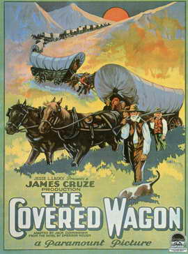 The Covered Wagon - 11 x 17 Movie Poster - Style G