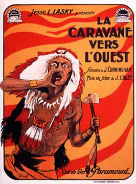 The Covered Wagon - 11 x 17 Movie Poster - French Style A
