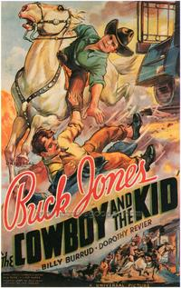 The Cowboy and the Kid - 43 x 62 Movie Poster - Bus Shelter Style A